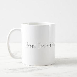 Thanksgiving Basic White Mug