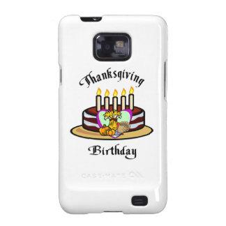 Thanksgiving Birthday Galaxy SII Cases