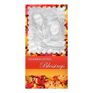 Thanksgiving Blessing Photo Card