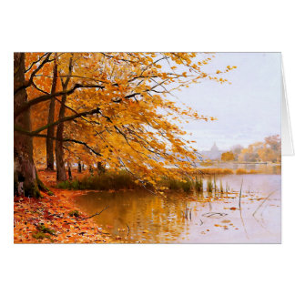 Thanksgiving Blessings. Fine Art Greeting Cards