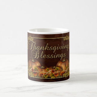 Thanksgiving Blessings Mug - Thanksgiving