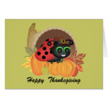 Thanksgiving Bug Card Cards