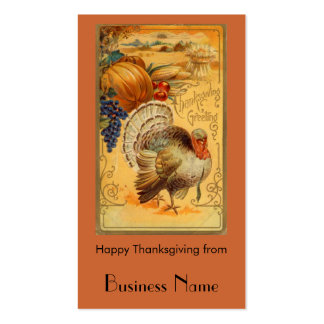 Thanksgiving Business Cards