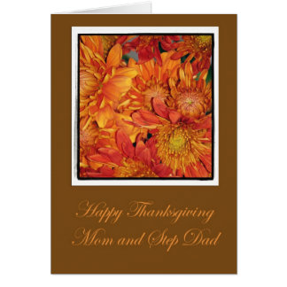 Thanksgiving Card For Mom And Step Dad