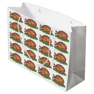 Thanksgiving Christmas Dinner Turkey Gift Bag