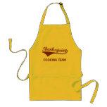 Thanksgiving Cooking Team Standard Apron