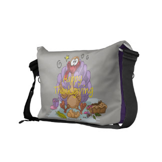 Thanksgiving Courier Bag