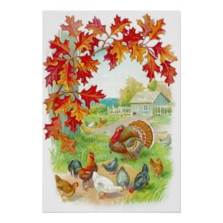 Thanksgiving Day Framed Print