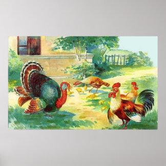 Thanksgiving Day Framed Print