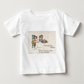 Thanksgiving Day Greetings Baby T-Shirt