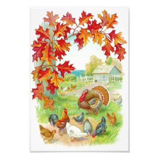 Thanksgiving Day Photo Print