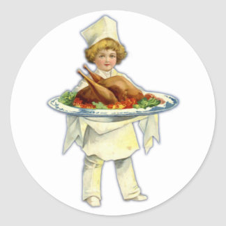 Thanksgiving Day Sticker