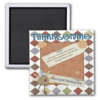 thanksgiving day wishes magnet