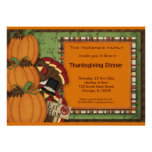 Thanksgiving Dinner Custom Invitation