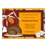 Thanksgiving Dinner Custom Invites