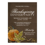 Thanksgiving Dinner Party 13 Cm X 18 Cm Invitation Card