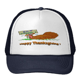 Thanksgiving Eat Pork Hats