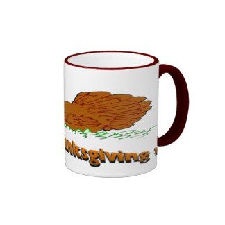 Thanksgiving Eat Pork Coffee Mugs