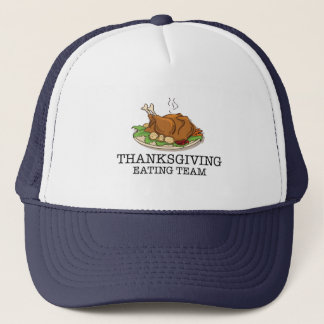 Thanksgiving Eating Team Fried Turkey Trucker Hat