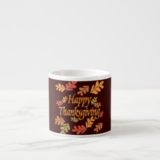 Thanksgiving Espresso Cup