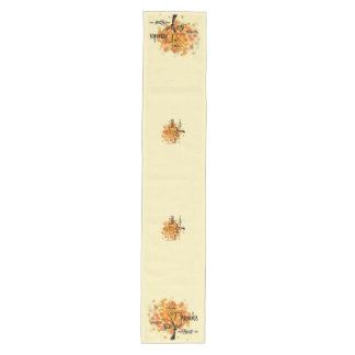 Thanksgiving Fall Table Runner