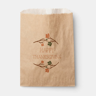 Thanksgiving Favor Bag