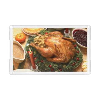 Thanksgiving Feast Acrylic Tray