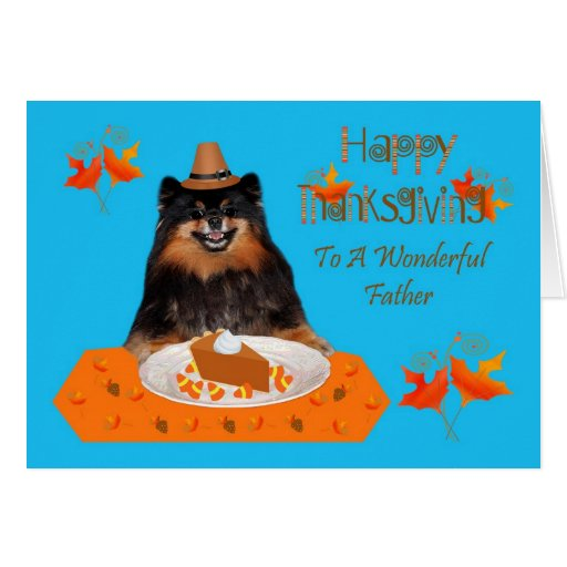 Thanksgiving For Father Greeting Card