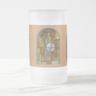 THANKSGIVING FROSTED GLASS MUGS