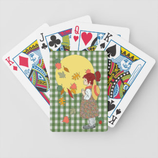 Thanksgiving Gingham Playing Cards