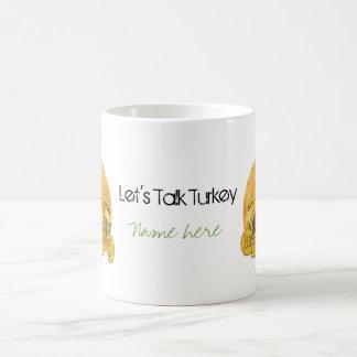 Thanksgiving - Give Thanks Basic White Mug