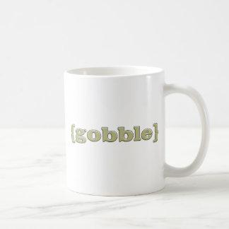 Thanksgiving Gobble Coffee Mug