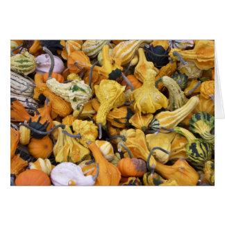 Thanksgiving Gourds Card
