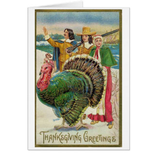 Thanksgiving Greetings, Card