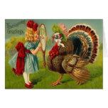 Thanksgiving Greetings Greeting Card