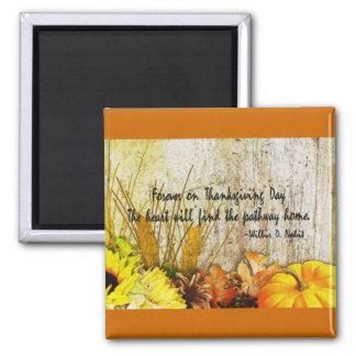 Thanksgiving Harvest Magnet