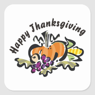 Thanksgiving Harvest Sticker