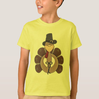 Thanksgiving Holiday Turkey kids t-shirt