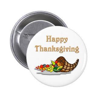 Thanksgiving Horn of Plenty Pin