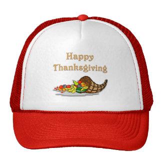 Thanksgiving Horn of Plenty Trucker Hats