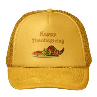 Thanksgiving Horn of Plenty Mesh Hat