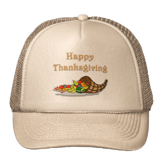Thanksgiving Horn of Plenty Hats