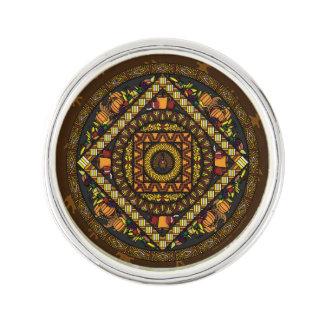 Thanksgiving Icons Lapel Pin