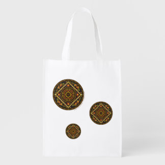 Thanksgiving Icons Reusable Grocery Bag
