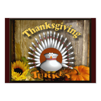 Thanksgiving Personalized Announcement
