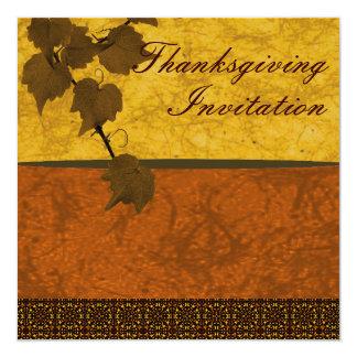 Thanksgiving Invitation Custom Personalised
