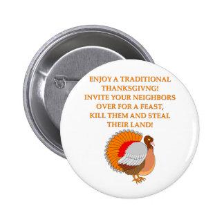 thanksgiving joke buttons