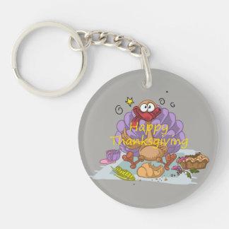 Thanksgiving Key Ring