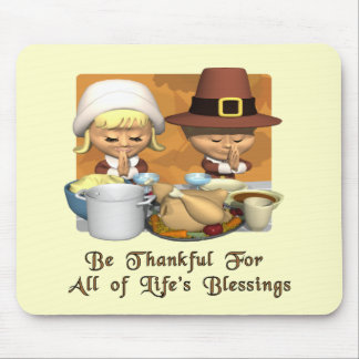 Thanksgiving: Life's Blessings Mouse Mat