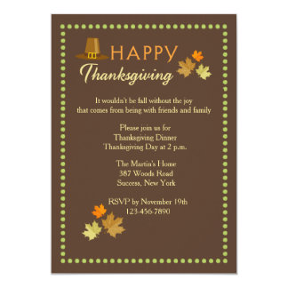 Thanksgiving Marquee Invitation